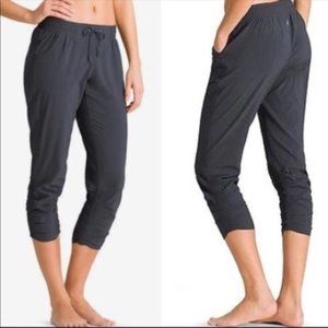 Athleta Charcoal Gray Aspire Ankle Pants Size 4